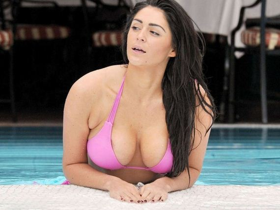 Casey-Batchelor-in-Pink-Bikini