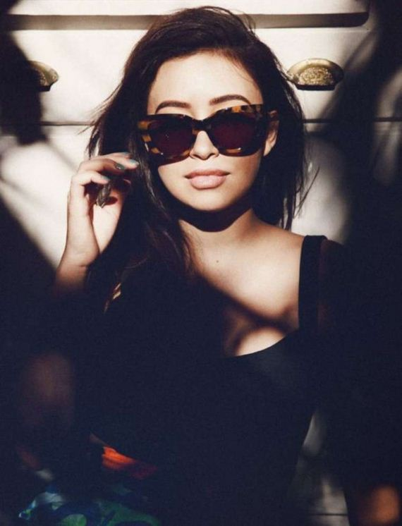 Christian-Serratos -Nylon