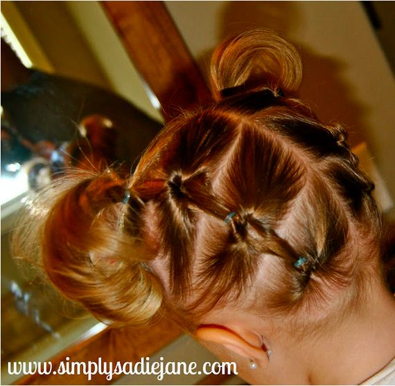 hairstyles for very long hair : Adorable Hairstyles Your Toddler Girl Will Love - Barnorama