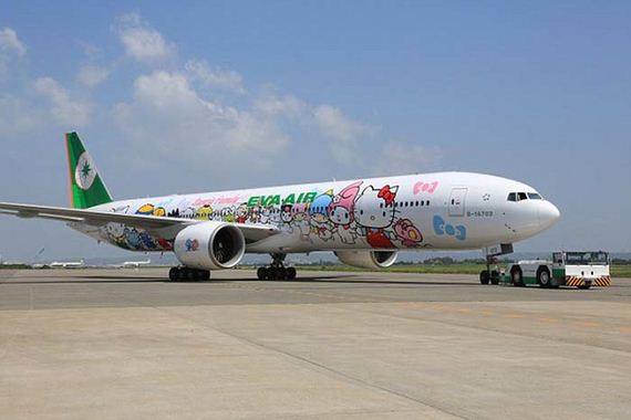 Hello-Kitty-Airplane