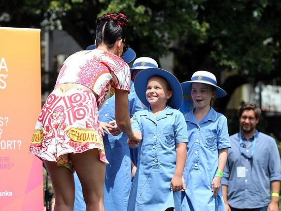 Katy Perry a star guest at Loreto Mandeville Hall girls ... Katy Perry High School Boyfriend