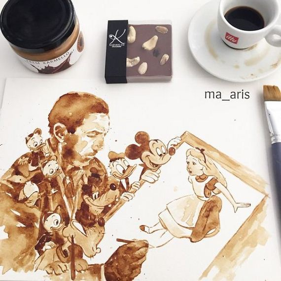 Painting-coffee