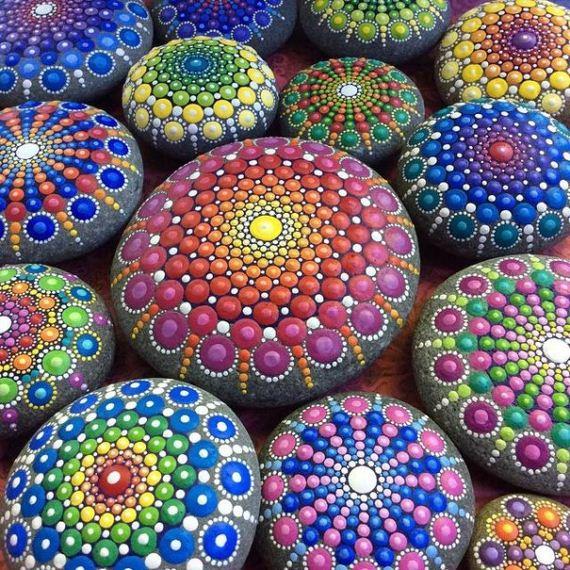 Painting-stone