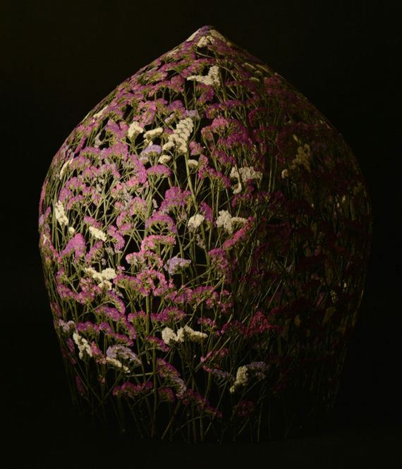 Pressed-Flower-Sculptures