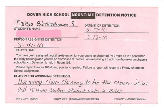 Ridiculous-Detentions