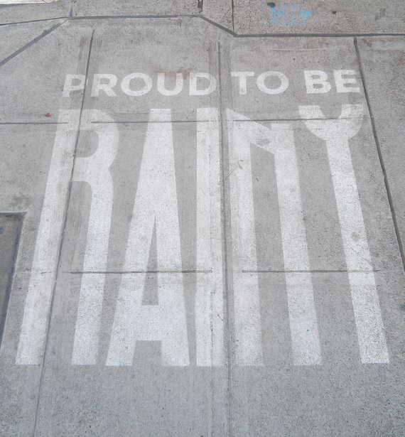 art-rain-street