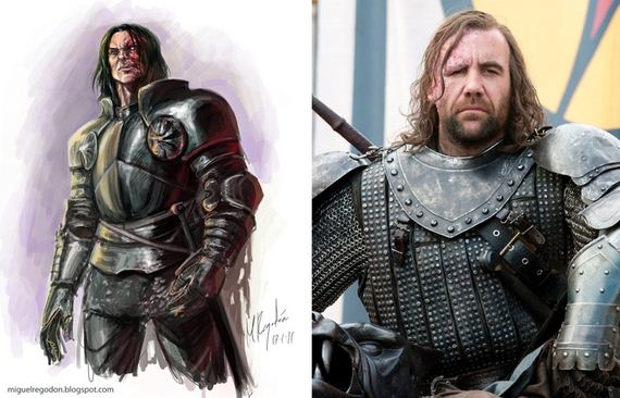 Game of thrones characters in the books vs on the show barnorama
