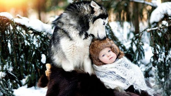 children_big_dogs