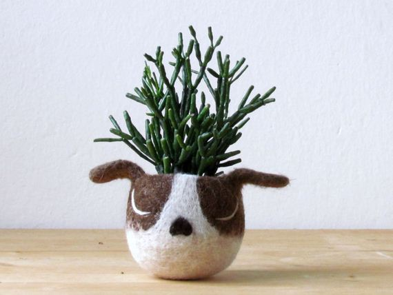 felt-vase