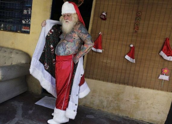 tattoo_santa