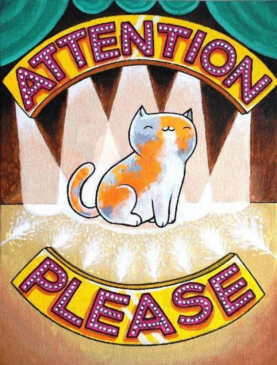 Cat-Themed
