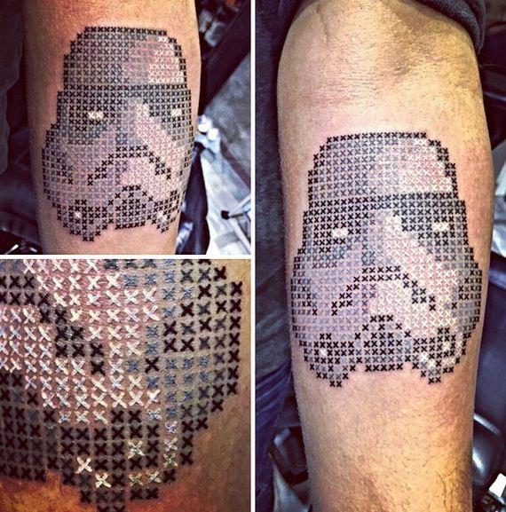 Cross-Stitch-tattoo