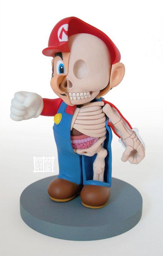 Jason Freeny Shows Us The Anatomy Of Cartoon Characters By Barnorama