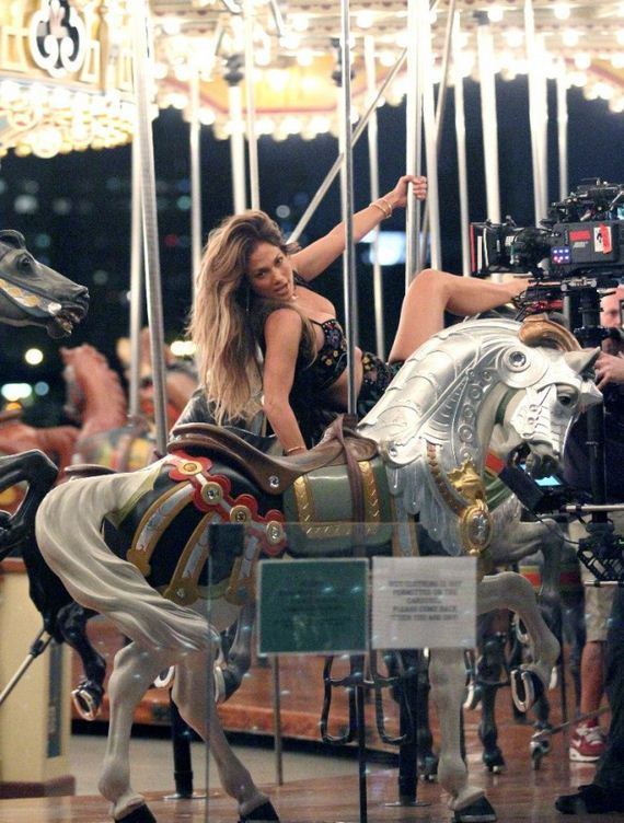 Jennifer-Lopez -Filming