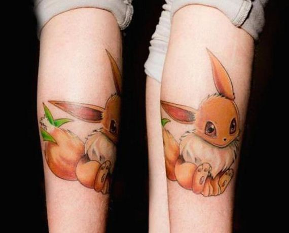 Pokemon-tattoo