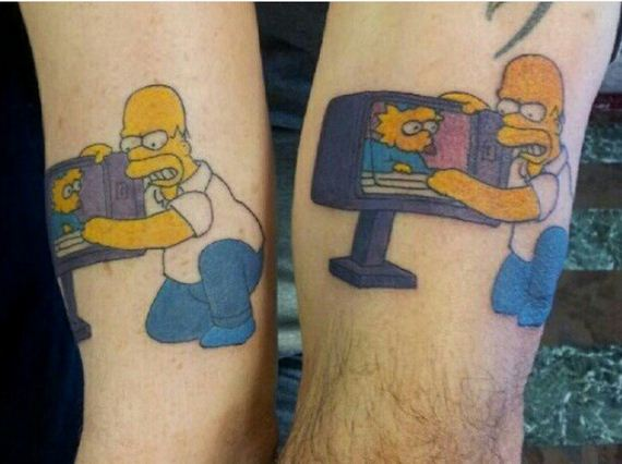 Fathers And Daughters Who Took The Plunge And Got Matching Tattoos