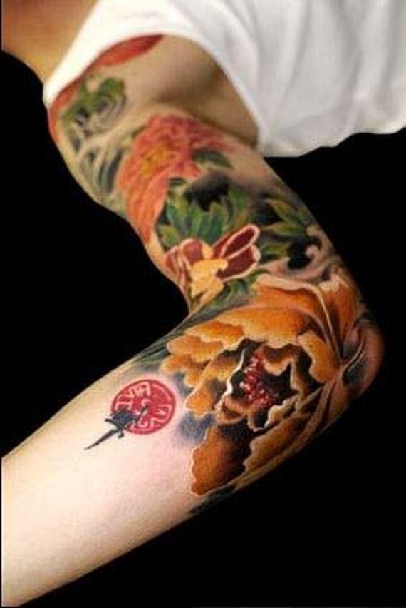 Japanese-Inspired Tattoos - Barnorama