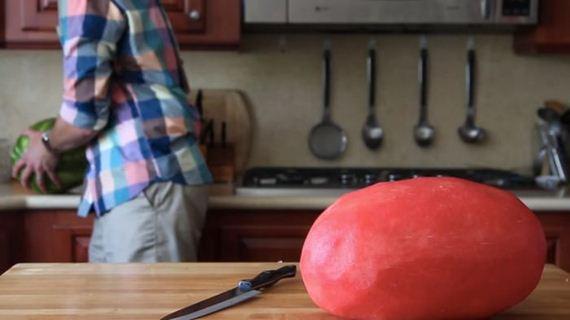 skin_a_watermelon