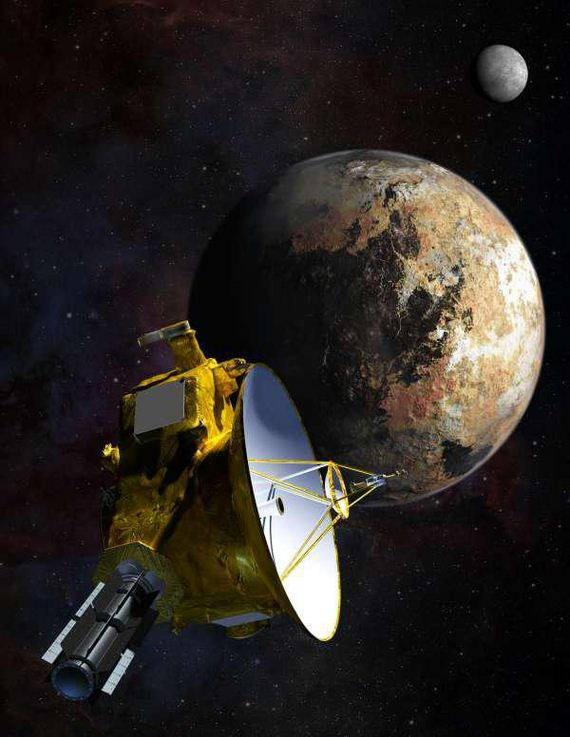 spacecraft-Pluto