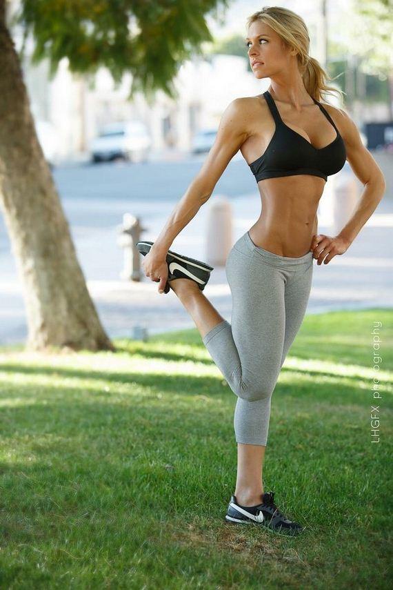 Yoga pants babes