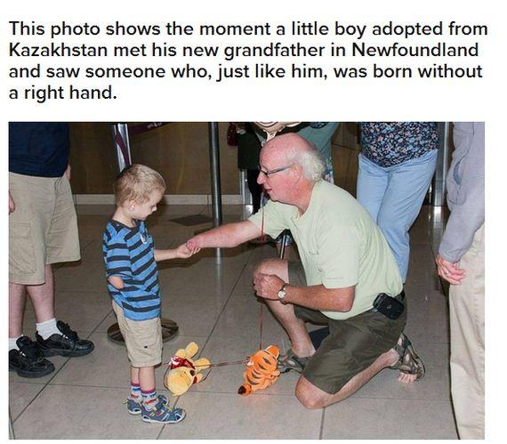 adopted_boy_met_his_grandpa