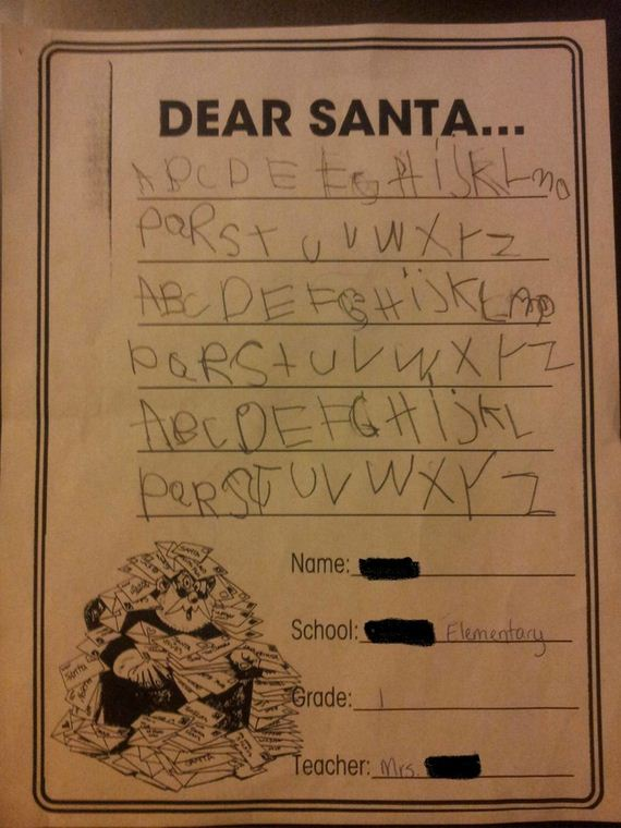 Letters-Santa