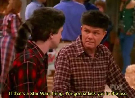 Wise Words From Red Foreman Of That 70s Show Barnorama