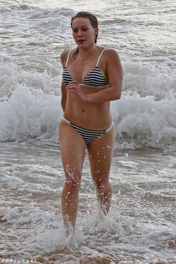 Hilary-Duff-beach