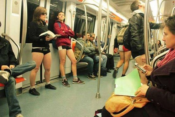 Pants-Subway