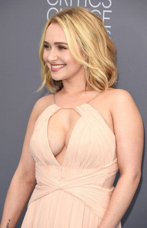 Hayden Panettiere Stepped Out In A Sexy Dress At The