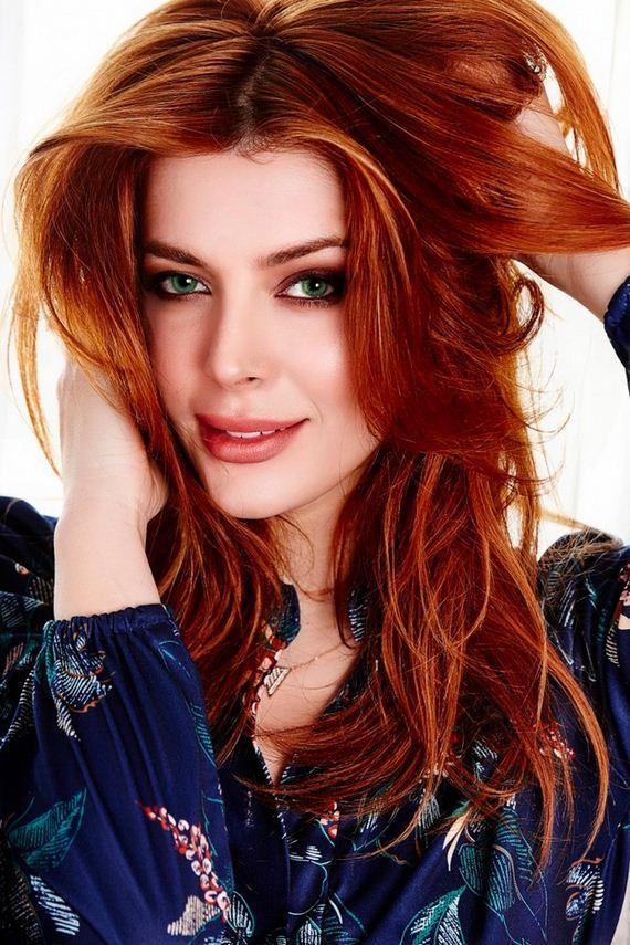 Fiery Beauty Elena Satine - Barnorama