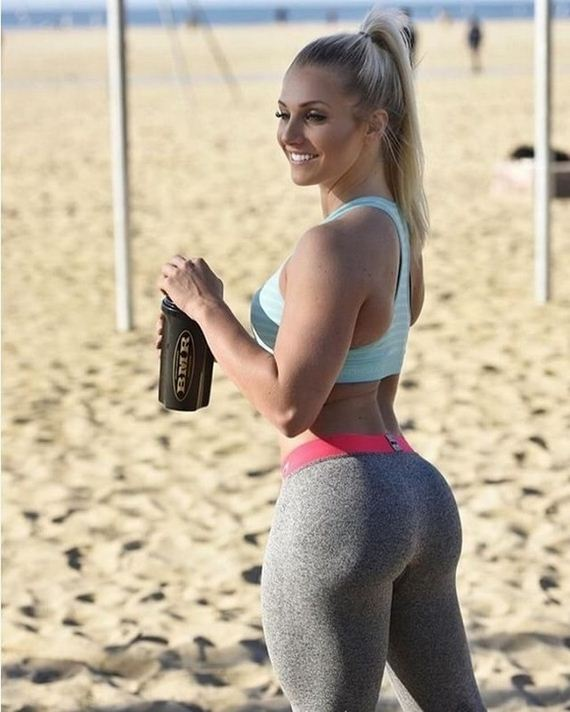 Sexy yoga workout girls-1115