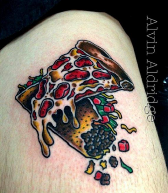 Pizza-Tattoos