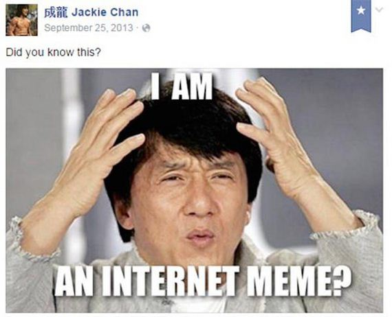 Happy Birthday To Jackie Chan Happiest Man On Facebook Barnorama