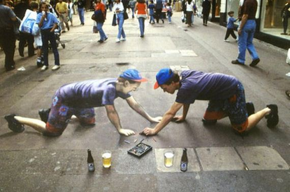 3D-Chalk-Drawings