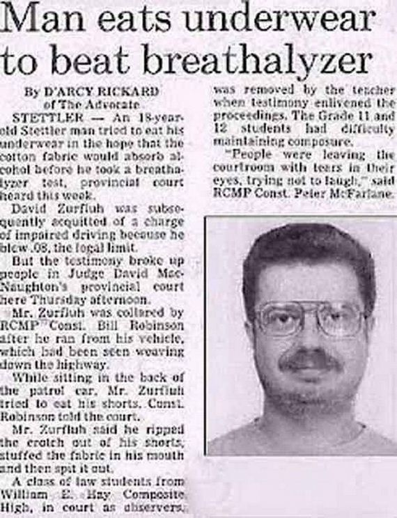 Bizarre Newspaper Headlines That Were Unintentionally ...
