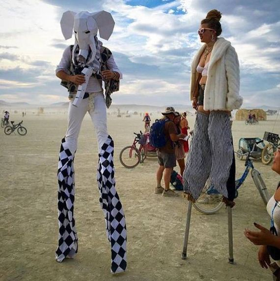 Funny Burning Man Memes Of 2017 On Sizzle: The Most Incredible Photos From Burning Man 2016