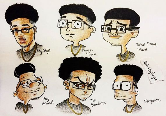 different_cartoon_style