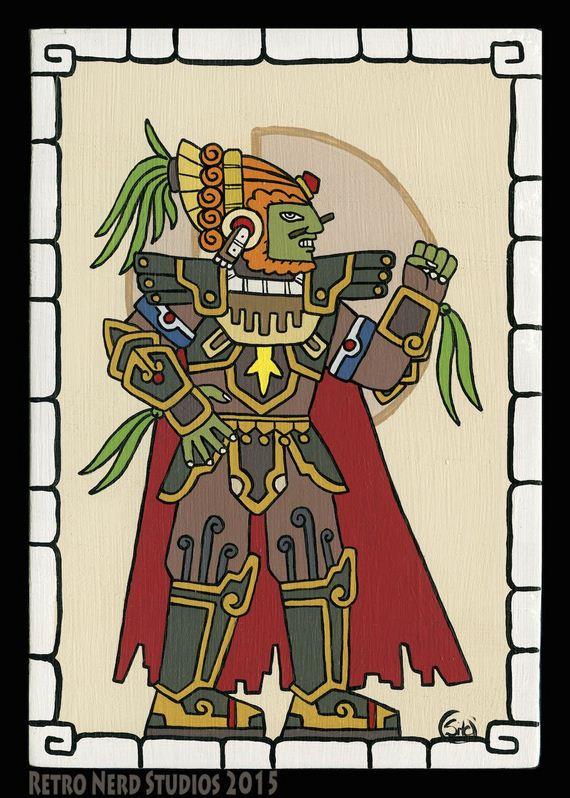 mayan-artwork-of-our-gaming-gods