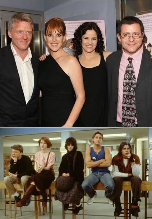 The Breakfast Club Then and Now