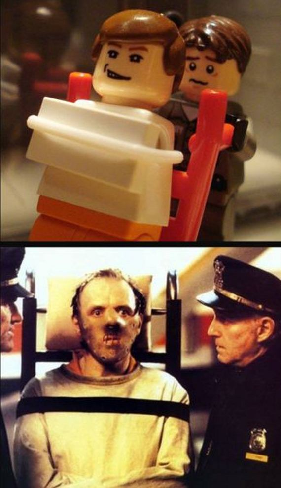 Lego Versions Of Famous Movies