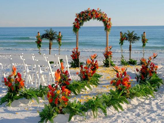 Wedding decoration outdoor beach wedding decoration ideas this post will give you some beautiful beach wedding decorating ideas outdoor junglespirit Images
