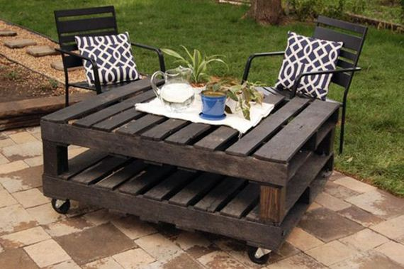 Making things from old pallets