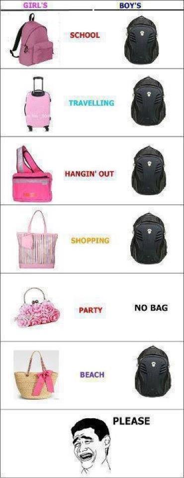 bag - Girls vs. boys na pud ta... - Love Talk
