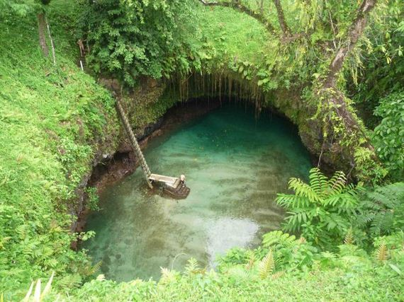 To Sua Ocean Trench on the Real Ocean Trenches