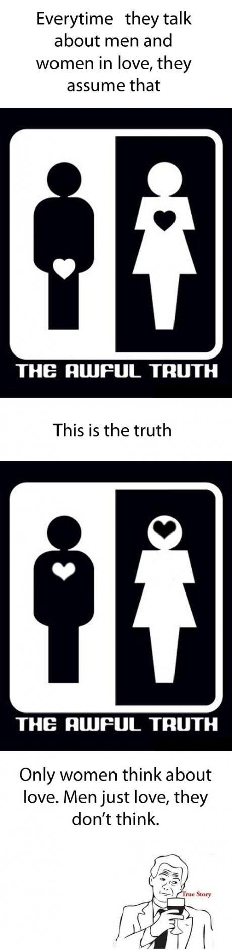 true-love - Men Vs. Women Redux - Love Talk