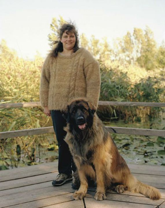 06-People Wearing Clothes Made From Their Dog's Fur