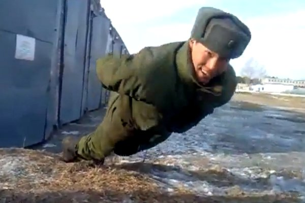 Russian Soldier Doing No Hands Push Ups Archives Barnorama