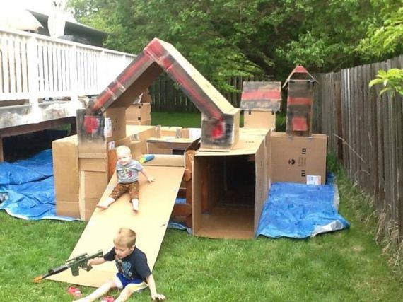 Diy playground barnorama for Diy cat playground
