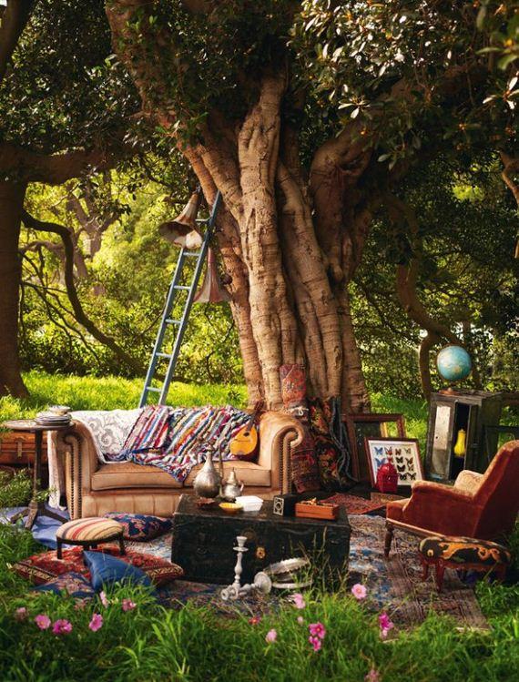 Bohemian homes barnorama for Garden life home garden design